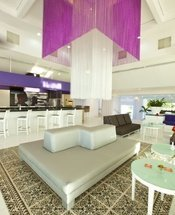 Lobby bar Krystal Cancún Hotel Cancún